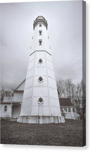 Coast Guard Canvas Print - The Steel Tower by Scott Norris