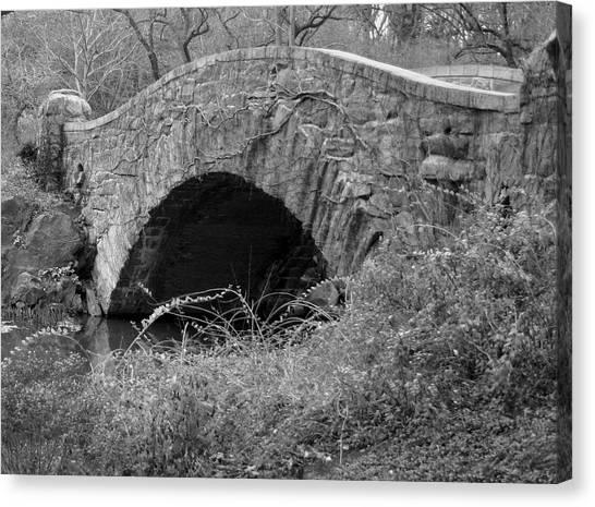 The Stone Bridge Canvas Print by Dennis Curry