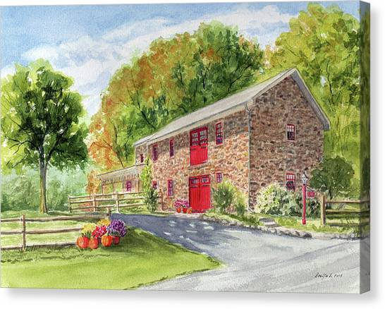 The Stone House Canvas Print