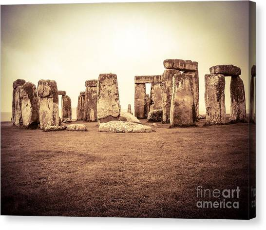 The Stones Canvas Print