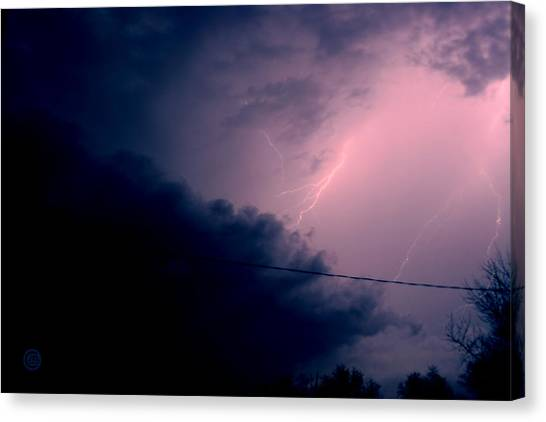 The Storm 1.1 Canvas Print