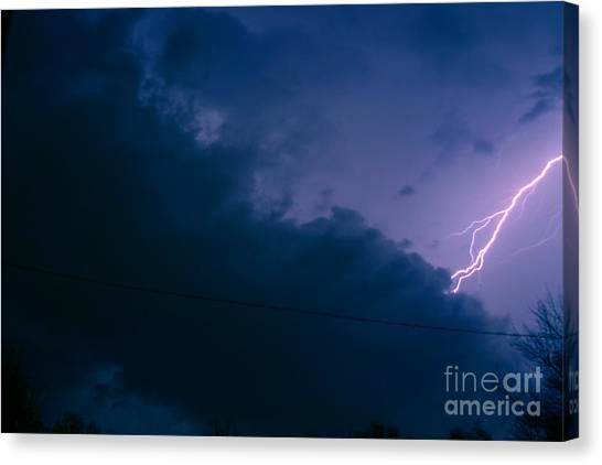 The Storm 1.2 Canvas Print