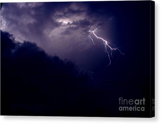 The Storm 1.3 Canvas Print