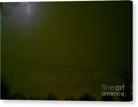 The Storm 2.1 Canvas Print