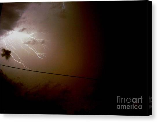 The Storm 2.2 Canvas Print