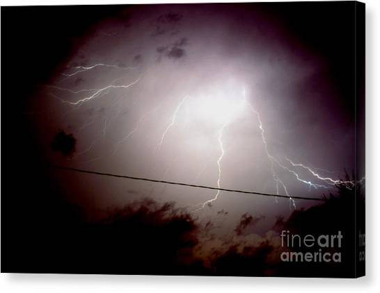 The Storm 2.3 Canvas Print