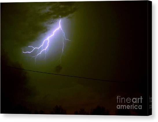The Storm 2.4 Canvas Print