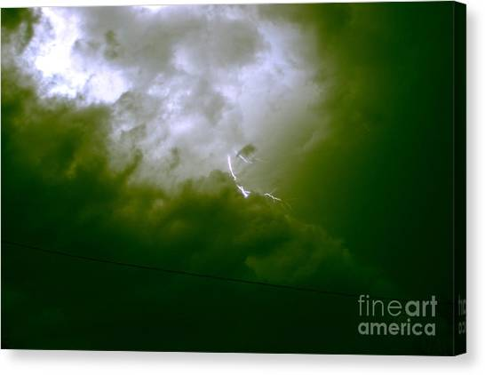 The Storm 2.7 Canvas Print