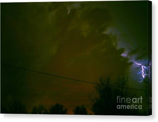 The Storm 2.8 Canvas Print