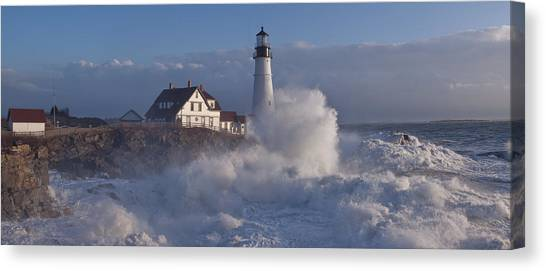 The Storm Canvas Print