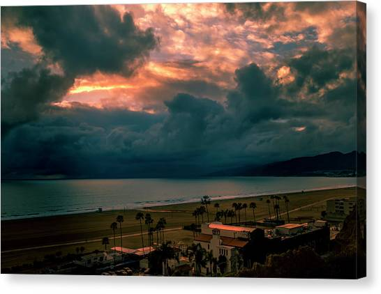 The Storm Moves On Canvas Print