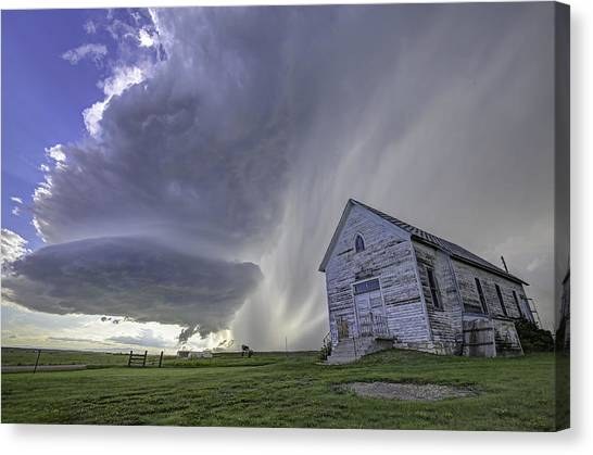 The Storm Will Pass Canvas Print