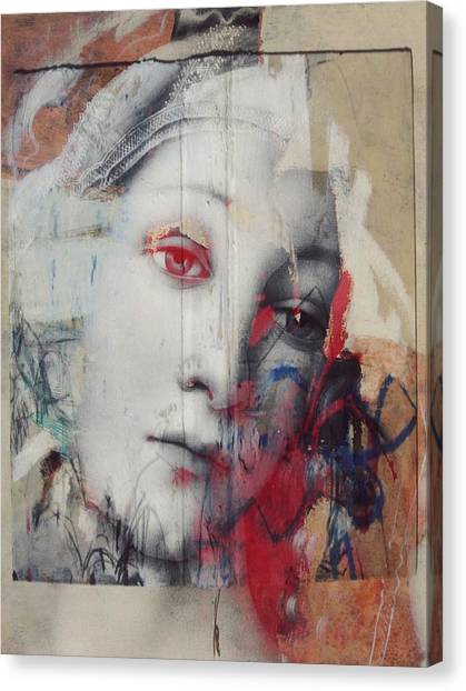 Emotional Canvas Print - The Story In Your Eyes  by Paul Lovering