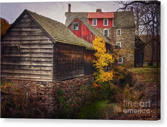 The Stover-meyers Mill Canvas Print