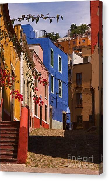 The Streets Of Guanajuato Canvas Print