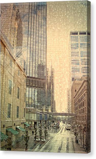 The Streets Of Minneapolis Canvas Print