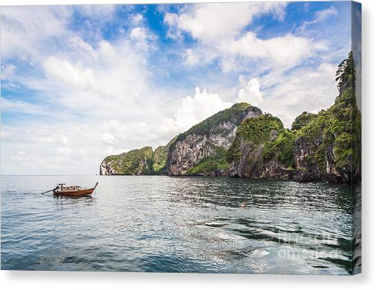 The Stunning  Koh Mook In The Trang Island Canvas Print
