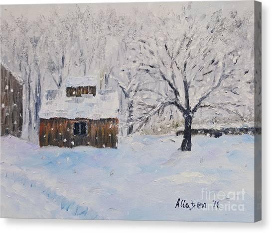 The Sugar House Canvas Print