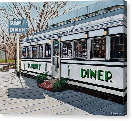 The Summit Diner Canvas Print