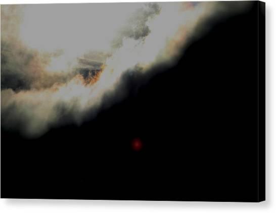 The Sun Behind The Cloud  1 Canvas Print by Paul SEQUENCE Ferguson             sequence dot net