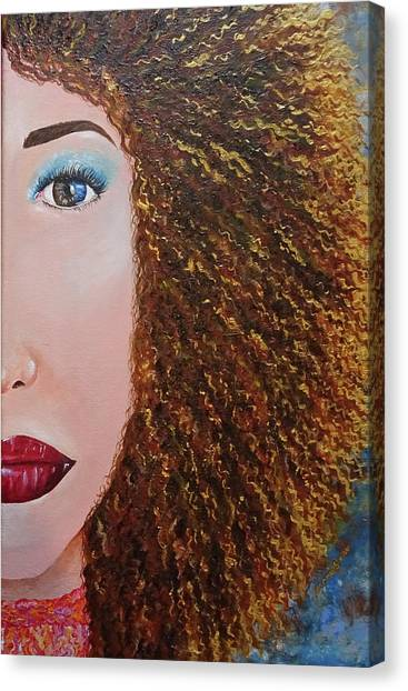 Big Red Canvas Print - The Sun  by Jeannie Shaw
