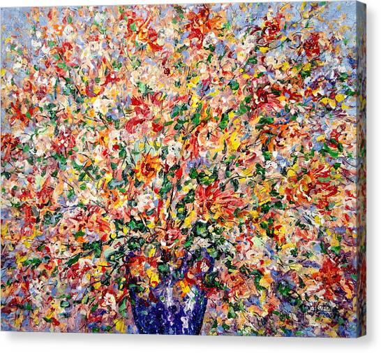 The Sunlight Flowers Canvas Print
