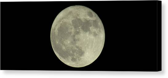 The Super Moon 3 Canvas Print