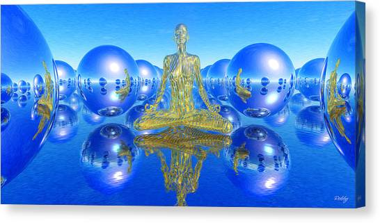 The Superficial Illusion Of Duality Canvas Print