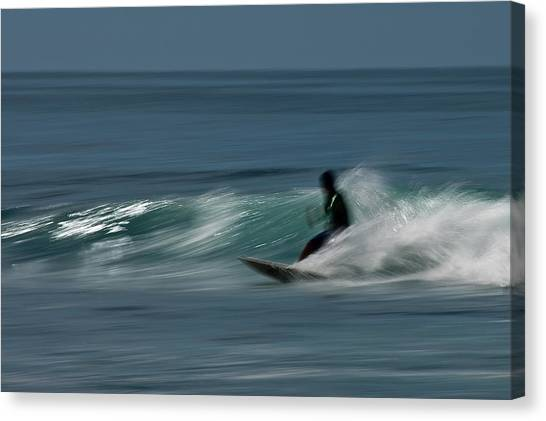 The Surfer Canvas Print by R J Ruppenthal