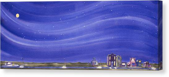 The Sweetest Little Town In The Prairie IIi Canvas Print