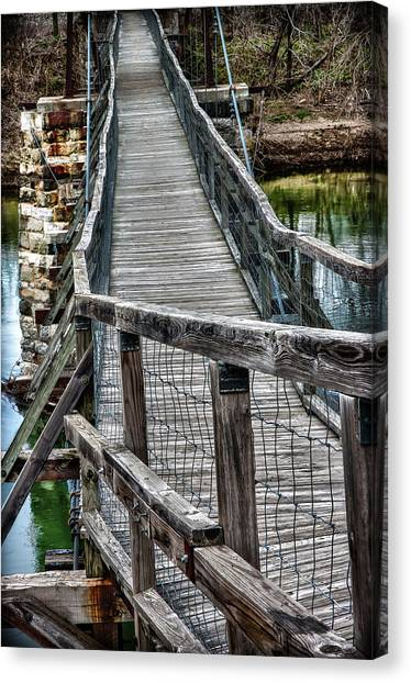 The Swinging Bridge Canvas Print