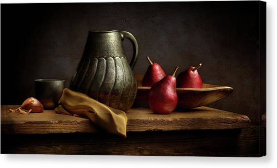 The Table Canvas Print