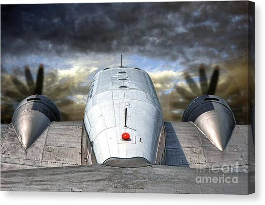 Utility Canvas Print - The Takeoff by Olivier Le Queinec