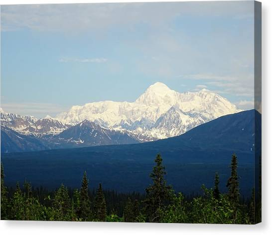 Canvas Print - The Tallest Mountain In The World by Red Cross