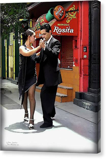 The Tango Canvas Print
