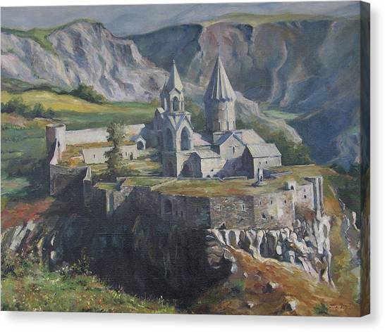 The Tatev Monastery Canvas Print