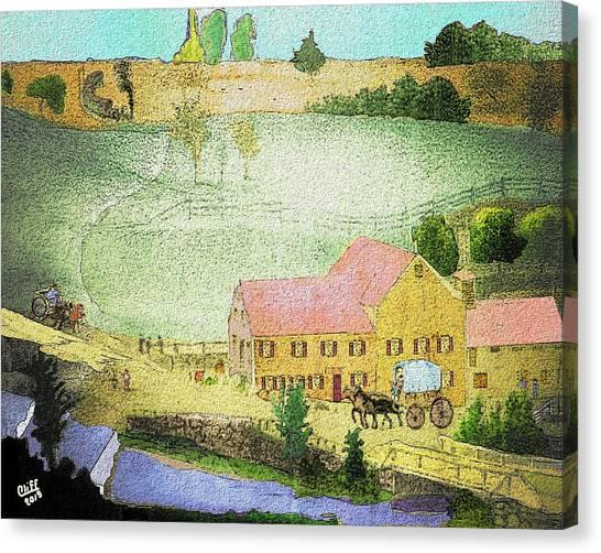 The Tavern Canvas Print