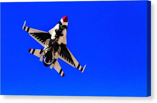 The Team Usaf Thunderbirds Canvas Print