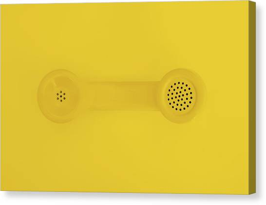 Communications Canvas Print - The Telephone Handset by Scott Norris