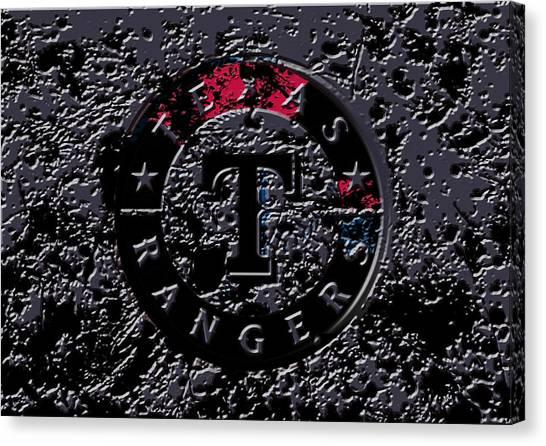 Nolan Ryan Canvas Print - The Texas Rangers 1a by Brian Reaves
