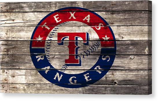 Nolan Ryan Canvas Print - The Texas Rangers 4a by Brian Reaves