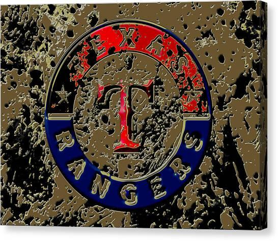 Nolan Ryan Canvas Print - The Texas Rangers 6a by Brian Reaves