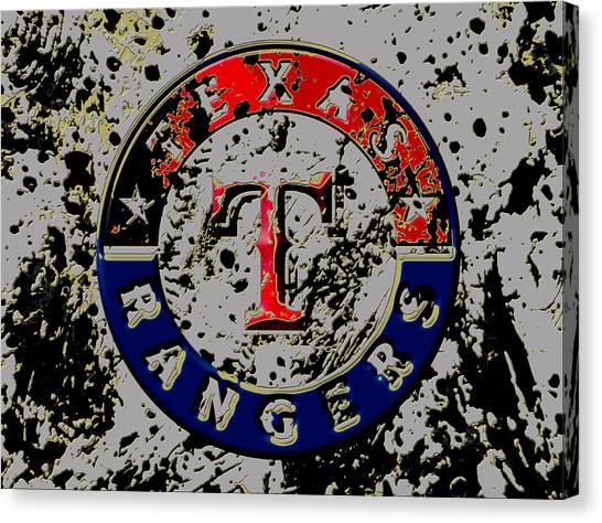 Nolan Ryan Canvas Print - The Texas Rangers 6b by Brian Reaves