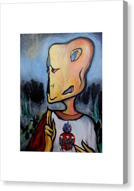 The Things That Were Canvas Print by Vanessa Crow