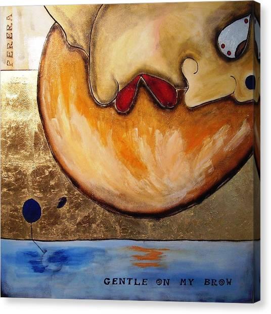 The Thinker Canvas Print by Maarten Perera