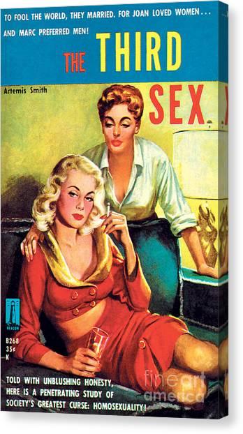 The Third Sex Canvas Print