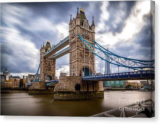 The Three Towers Canvas Print