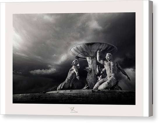 The Titans Canvas Print