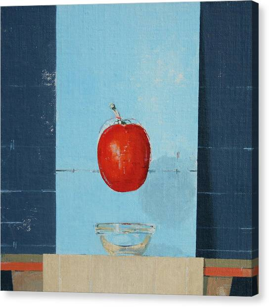 Magritte Canvas Print - The Tomato by Charlie Millar