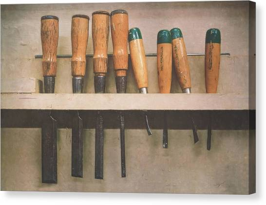 Tools Canvas Print - The Tools Of The Trade by Scott Norris